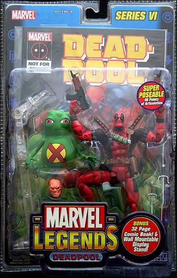 Marvel Legends (Series 6) Deadpool (2-Pack w/ Doop) by Toy Biz