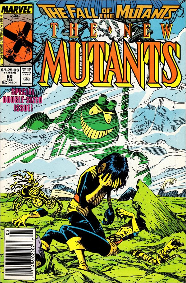 New Mutants (1983) 60-A by Marvel