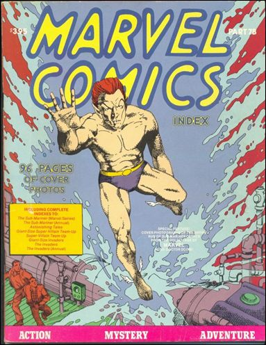 Marvel Comics Index 7B-A by Pacific