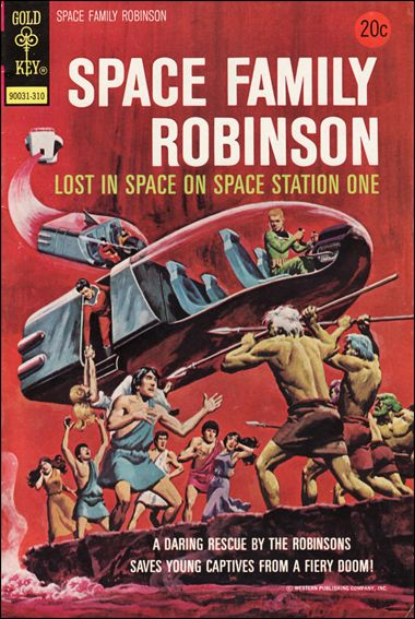Space Family Robinson 37-A by Gold Key