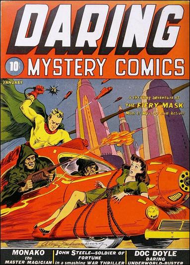 Daring Mystery Comics 1-A by Timely