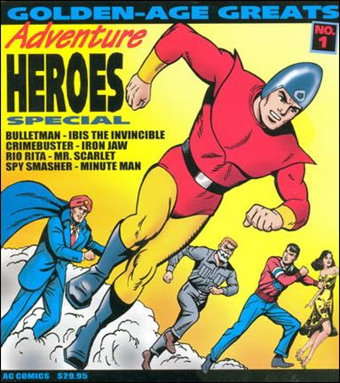 Golden-Age Greats Adventure Heroes Special 1-A by AC