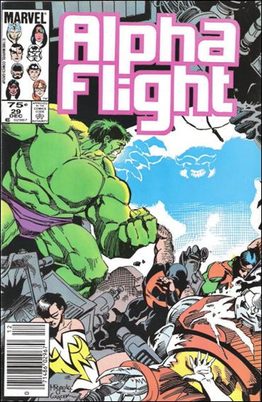 Alpha Flight (1983) 29-B by Marvel