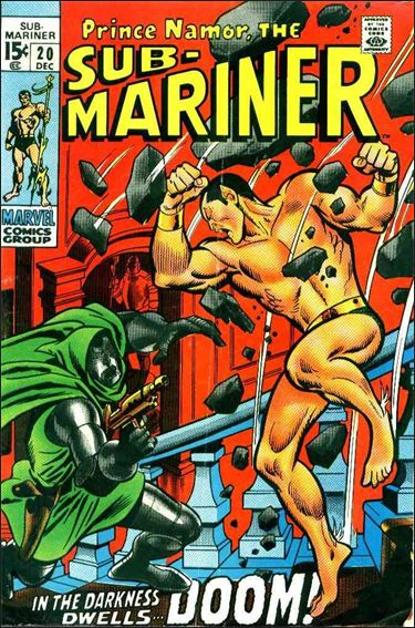 Sub-Mariner (1968) 20-A by Marvel