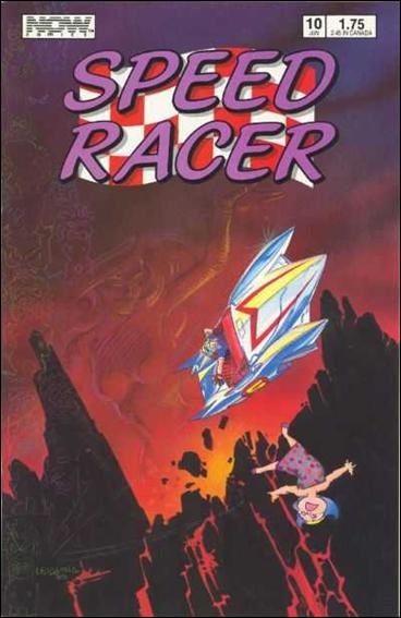 Speed Racer (1987) 10-A by Now Comics