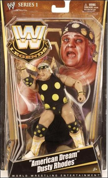 "WWE Legends (Series 01) ""American Dream"" Dusty Rhodes by Mattel"