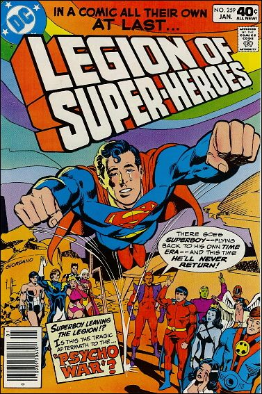 Legion of Super-Heroes (1980) 259-A by DC