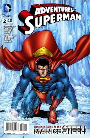 Adventures of Superman (2013) 2-A by DC