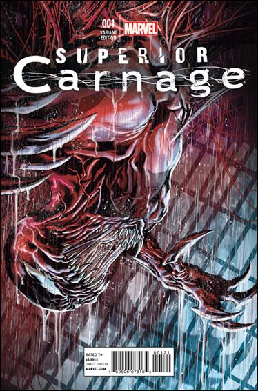Superior Carnage 1-B by Marvel