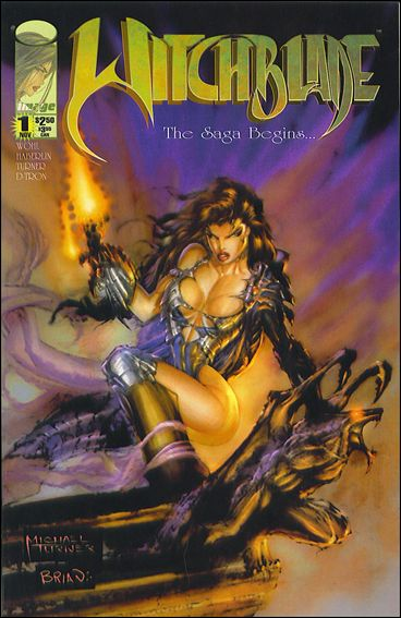Witchblade 1-A by Top Cow