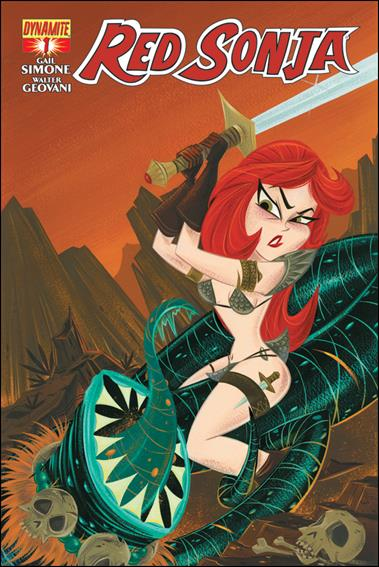 Red Sonja (2013) 1-F by Dynamite Entertainment