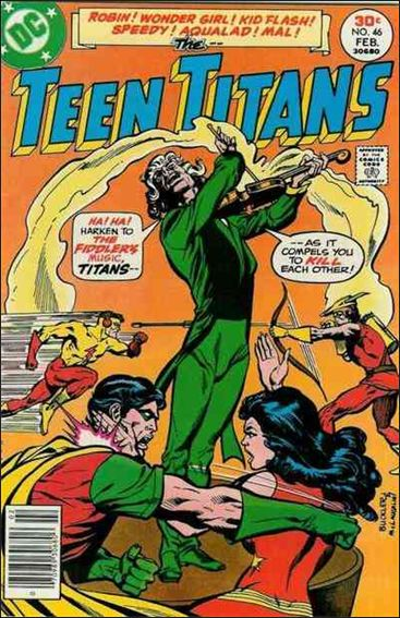 Teen Titans (1966) 46-A by DC