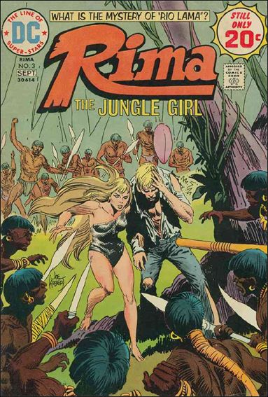 Rima Jungle Girl 3-A by DC