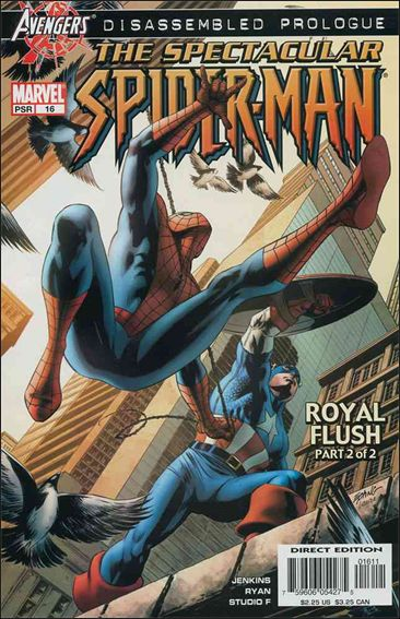 Spectacular Spider-Man (2003) 16-A by Marvel