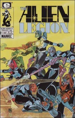 Alien Legion (1984) 12-A