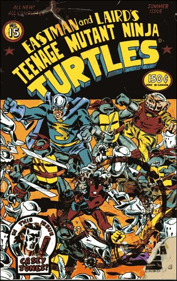 Teenage Mutant Ninja Turtles (1984) 15-A by Mirage