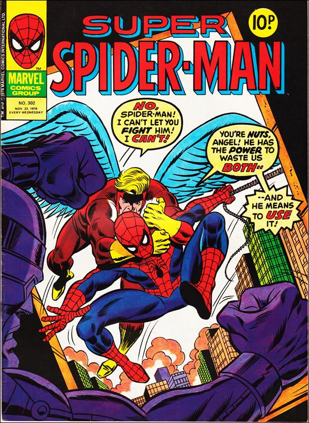 Spider-Man: Comics Weekly (UK) 302-A by Marvel UK
