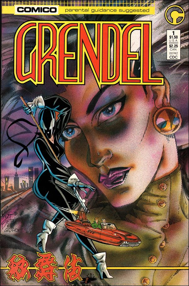 Grendel (1986) 1-A by Comico