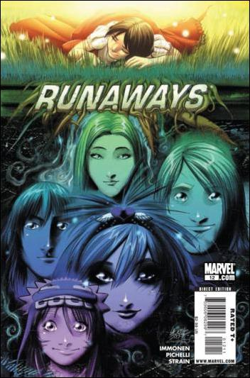 Runaways (2008) 12-A by Marvel