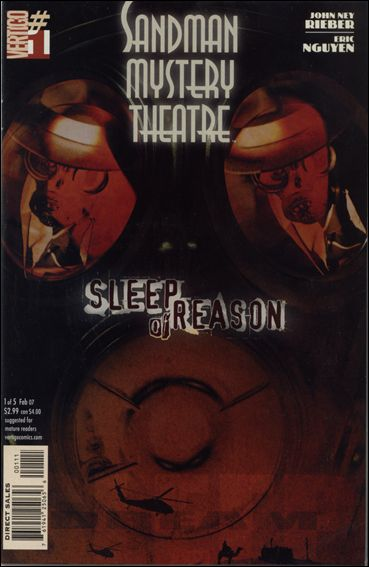 Sandman Mystery Theatre: Sleep of Reason 1-A by Vertigo