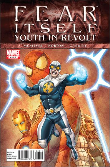 Fear Itself: Youth In Revolt 4-A by Marvel