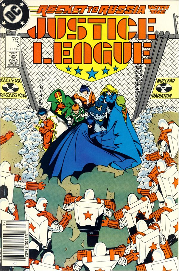 Justice League (1987) 3-A by DC