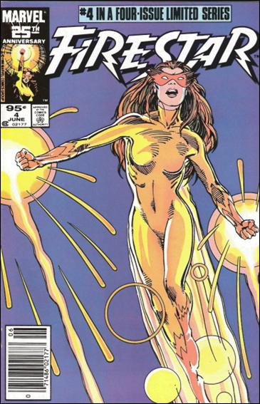 Firestar (1986) 4-B by Marvel