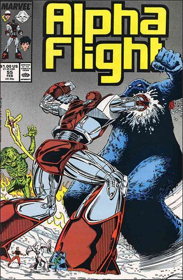 Alpha Flight (1983) 55-A by Marvel