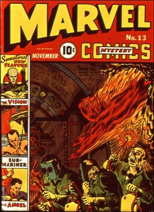 Marvel Mystery Comics (1939) 13-A