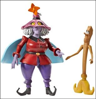 Masters of the Universe Classics Madame Razz with Broom (Loose)