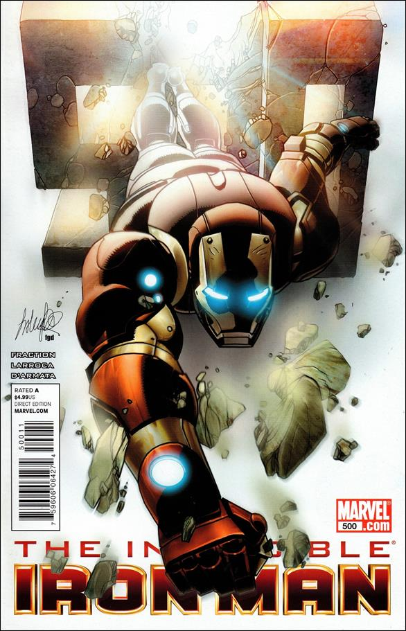 Invincible Iron Man (2008) 500-A by Marvel