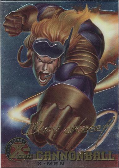 1995 Fleer Ultra X-Men All Chromium (Gold Signature Parallel Base Set) 4-A by Fleer