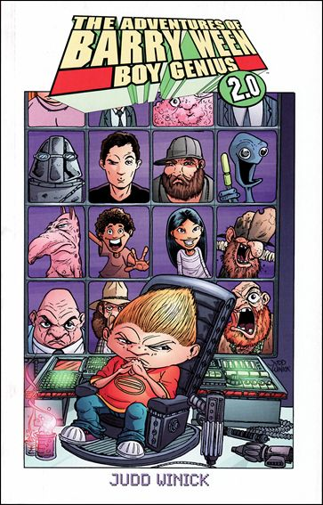 Adventures of Barry Ween, Boy Genius 2.0 1-A by Oni Press