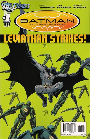 Batman Incorporated: Leviathan Strikes 1-A by DC