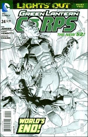 Green Lantern Corps (2011) 24-B by DC