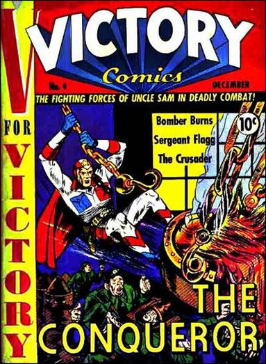 Victory Comics 4-A by Hillman
