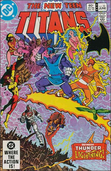 New Teen Titans (1980) 32-A by DC