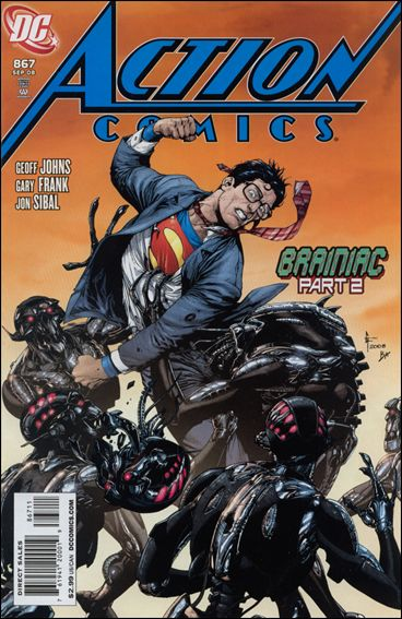 Action Comics (1938) 867-A by DC