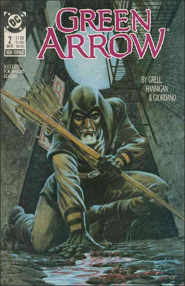 Green Arrow (1988) 2-A by DC