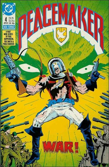 Peacemaker (1988) 4-A by DC