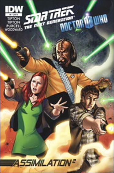Star Trek: The Next Generation / Doctor Who: Assimilation2 8-B by IDW
