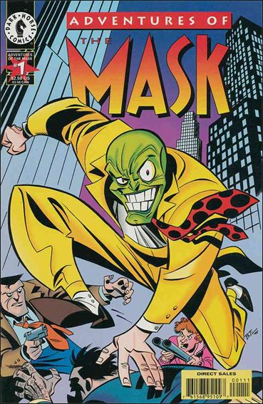 Adventures of the Mask 1-A by Dark Horse