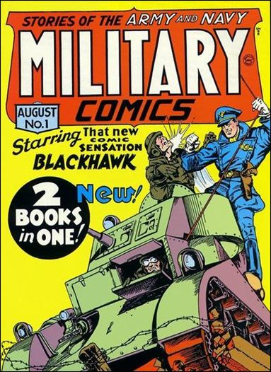 Military Comics 1-A by Comic Magazines