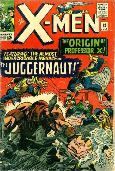 X-Men (1963) 12-A by Marvel