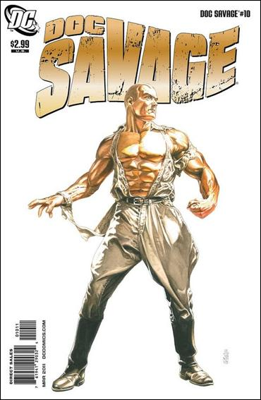 Doc Savage (2010) 10-A by DC