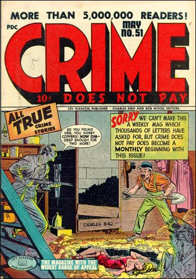Crime Does not Pay 51-A by Lev Gleason Productions