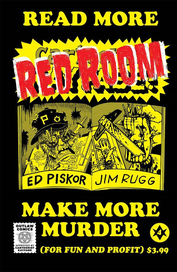 Red Room: The Antisocial Network 4-B by Fantagraphics