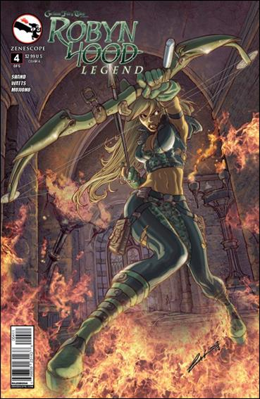 Grimm Fairy Tales Presents Robyn Hood: Legend 4-A by Zenescope Entertainment