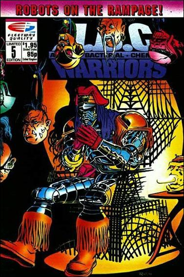 A.B.C. Warriors 5-A by Fleetway Quality