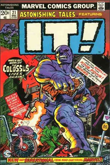 Astonishing Tales (1970) 21-A by Marvel